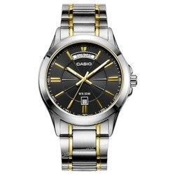 Casio Watch Free Shipping 2017 Fashion Casual Waterproof relogio masculino Luxury Brand Date Wrist Watch reloj hombre MTP-1381D