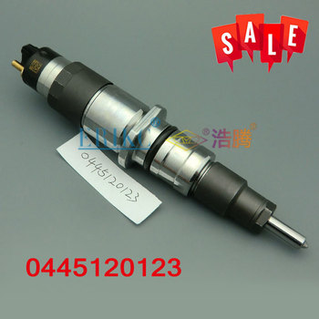 ERIKC 0445120123 Common Rail Nozzle Injection 00986AD1048 Auto Diesel Engine Fuel Dispenser Injector 0 445 120 123 For CUMMINS