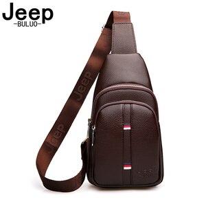 JEEP BULUO Man's Chest Bag Cas