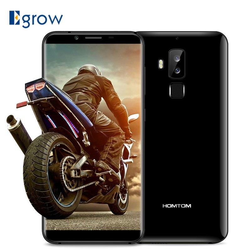 HOMTOM S8 16MP + 5MP Double Caméra Arrière Téléphone portable MTK6750T Octa Core Téléphones Cellulaires 5.7 HD + 18:9 android 7.0 Smartphone 4 gb + 64 gb
