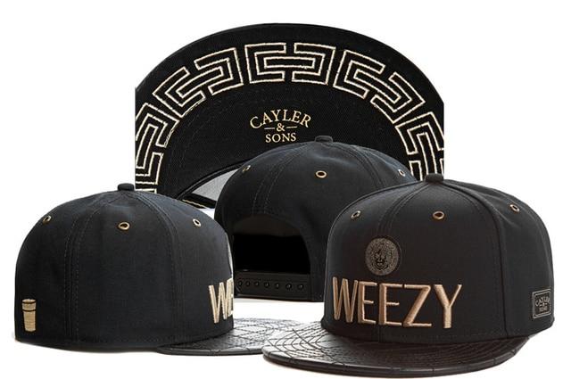 Cayler Sons STRAIGHT FROM BROOKLYN WEEZY snapback hat weed maple 5 leaf  baseball cap adjustable bone gorras 8f4b0221a90