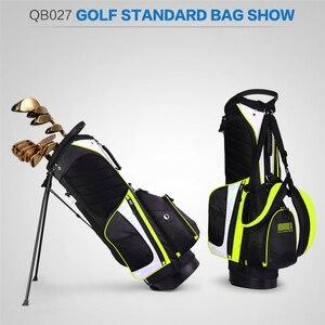 Image 5 - Pgm ポータブルゴルフスタンドバッグゴルフバッグ男性女性防水ゴルフクラブセットバッグとスタンド 14 ソケット屋外スポーツカバーバッグ D0069