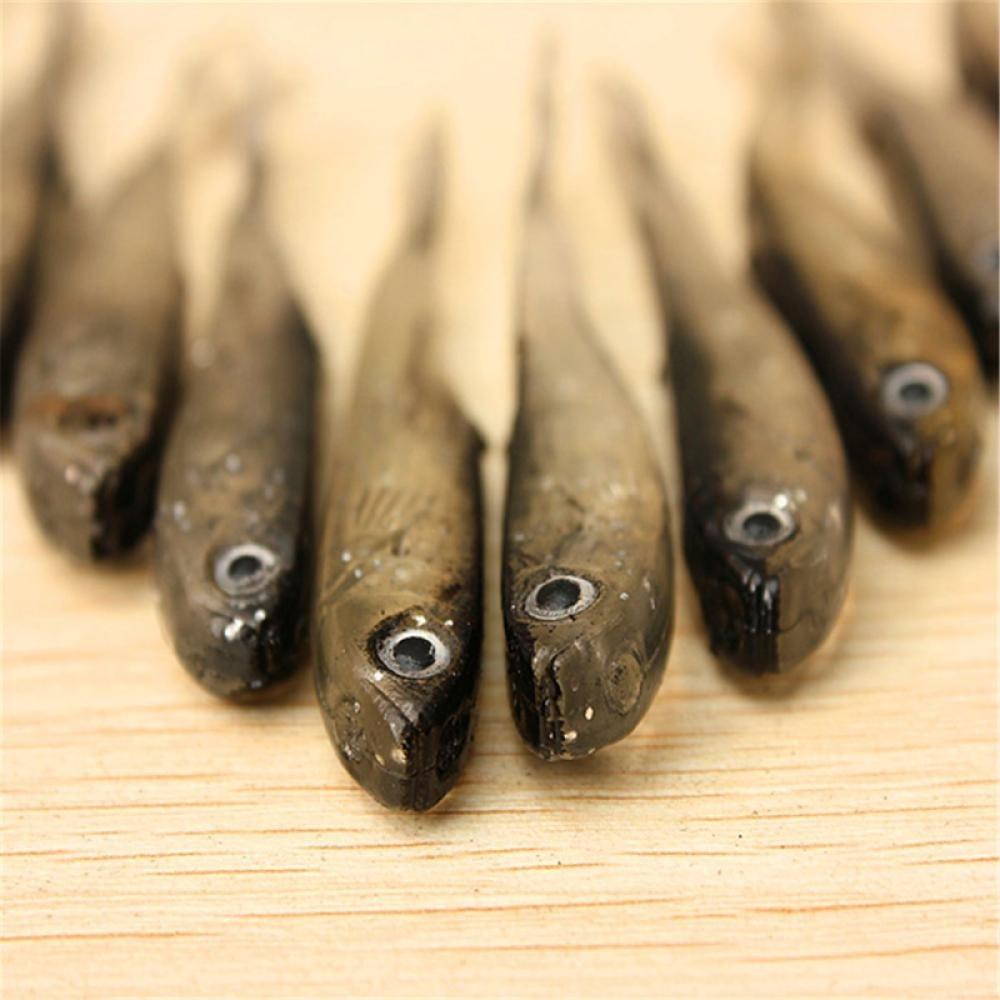New Soft Lure Fishing Worm Swimbaits Jig Head Soft Lure Fly Fishing Bait Fishing Lures 10pcs/lot 2.2g/8mm
