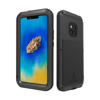 For Huawei Mate 20 Pro Case Waterproof Cover for Huawei Mate 20 Pro Aluminum Metal Shockproof Case For Huawei Mate20 Pro Cover