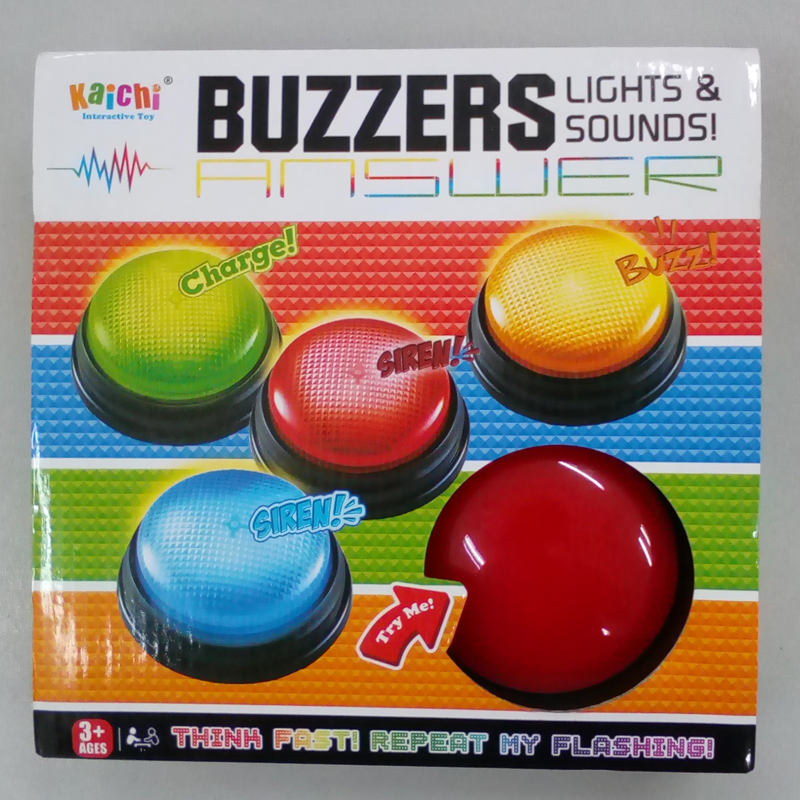 Educational-Toy Buzzer-Toy Game Quiz Competition Plastic For Family And Sounds-Button