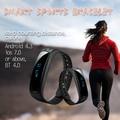 E02 Smartband Health fitness tracker Sport Bracelet Waterproof Wristband for IOS Android Smart Band 4.0 Bluetooth Call/SMS