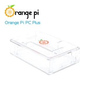 Image 5 - Orange Pi PC Plus set de 3, PC Plus, boîtier Transparent, ABS, USB vers DC 4.0MM 1.7MM, câble dalimentation