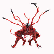 Red Venom Cletus Kasady Carnificina Amazing SpiderMan Articulações Móveis PVC Action Figure Collectible Modelo Toy Presente de Natal(China)