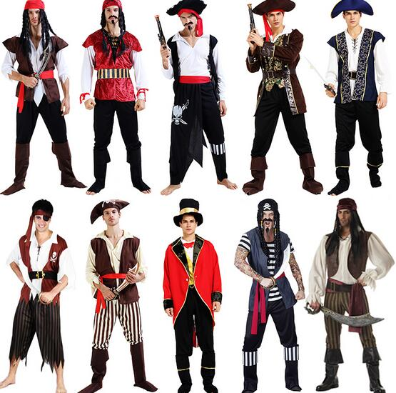Superior quality Party performances Pirates Costume Men captain Cosplay uniforms pirate sexy Adult clothes Halloween Costume -in Anime Costumes from Novelty ...  sc 1 st  AliExpress.com & Superior quality Party performances Pirates Costume Men captain ...