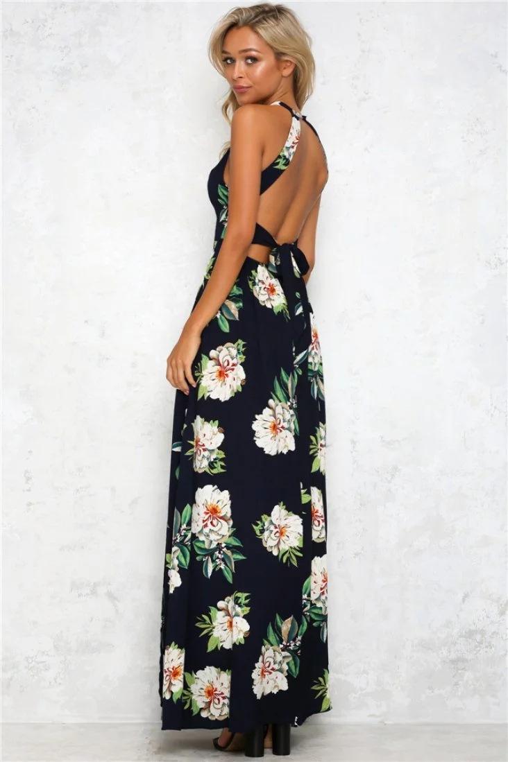 HTB1M2s2PFXXXXcSXVXXq6xXFXXX5 - Women Long Sleeveless Floral Maxi Dresses JKP075