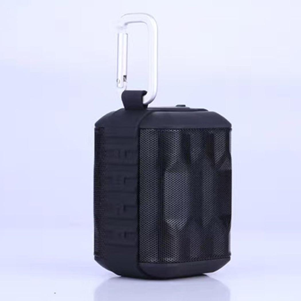 TK200 Waterproof Mini Bluetooth Stereo Speaker 3D Audio Surround Voice Outdoor Cloth Net Cover Waterproof Portable Speakers