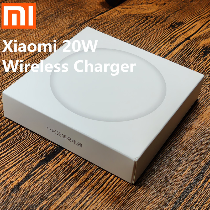 Original Xiaomi Wireless <font><b>Charger</b></font> <font><b>Mi</b></font> 9 20W Max For <font><b>Mi</b></font> 9 (20W) MIX 2S / 3 (10W) Qi EPP Compatible Cellphone (5W) Multiple Safe image