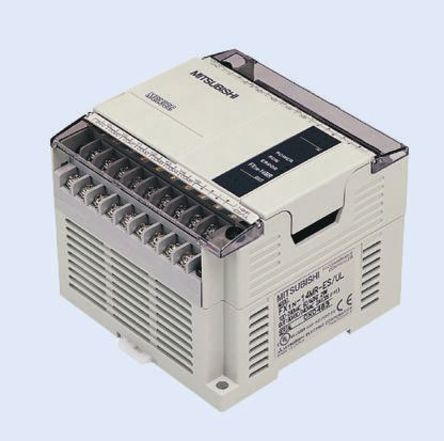 FX1N-14MR-ES/UL FX1N PLC CPU Relay Output Computer Interface, 8000 Steps Program Capacity, 14 I/O Ports fx1n 40mr es ul fx1n plc cpu relay output computer interface 8000 steps program capacity 40 i o ports