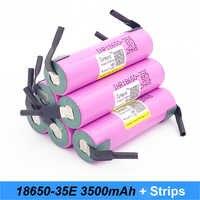 Batterie 18650 35e Turmera Für samsung 18650 3500 mah 13A INR18650 35E 18650 batterie für bike batterie für schraubendreher power bank