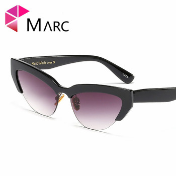 Diseñador Ojo Marc De Gafas Sol Moda Gato Marca La ulKTF1c3J
