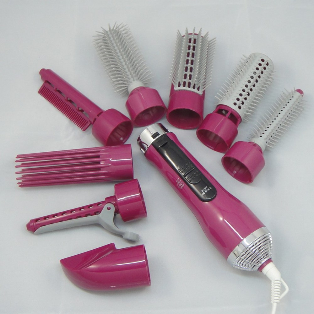 Multifunctional 500W power hair comb hair dryer hair