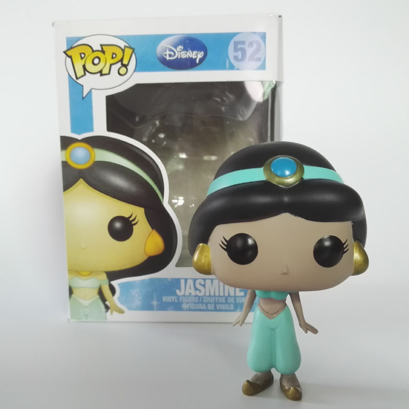Funko POP Jasmine Princess Aladdin's lamp Anime Movie PVC Vinyl Action Figure Dolls Model Collection Christams gifts 4 10CM extracting nature areas using object oriented analysis