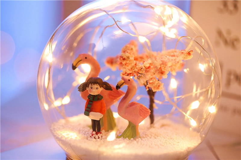 Creative LED Crystal Ball Design Table Lamp Room Decor Bedside Night Light For Girls Baby New Year Christmas Birthday Gift (23)