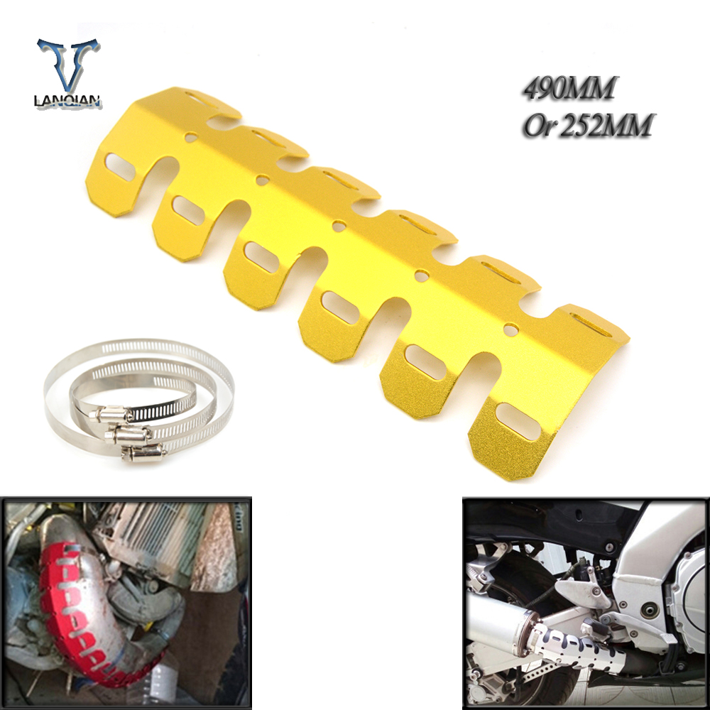 Exhaust & Exhaust Systems Lovely Motorcycle Exhaust Muffler Pipe Leg Protector Heat Shield Cover For Ktm 125 85 150 144 200 250 300 350 65 Sx Xc Exc Six Days F W Good For Antipyretic And Throat Soother Motorcycle Accessories & Parts