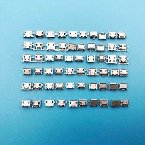 Image 4 - 30 modelos Micro USB 5 P 5 pines Micro USB Jack 5 pines puerto de carga de cola de alimentación Usb macho