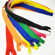 HL 10PCS 50CM Length Colorful Nylon Invisible Zippers Close-End Garment Bags Accessories Sewing Notions A302