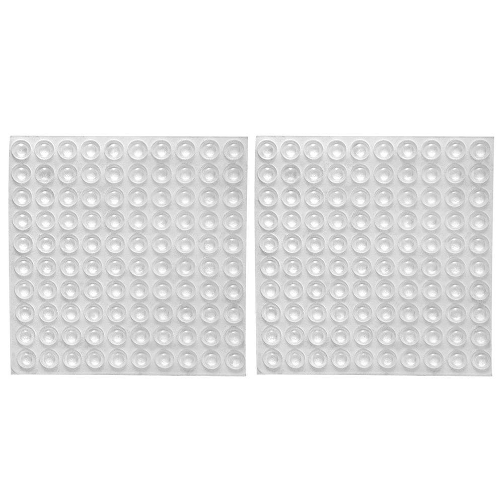 100 Stks/set Deurstopper Silicon Rubber Keukenkast Zelfklevende Stop Demper Buffer Pad Meubels Hardware