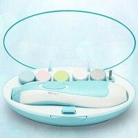 新しいベビーセーフネイルクリッパーカッター電気赤ちゃんの爪トリマーベビーはさみ赤ちゃんネイルケア幼児爪マニキュアセット