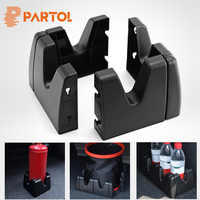 Partol Black ABS Car Trunk Organize Storage Blocks DIY Auto Trunk Luggage Cargo Universal L Shape Baffle Cargo Arrangement