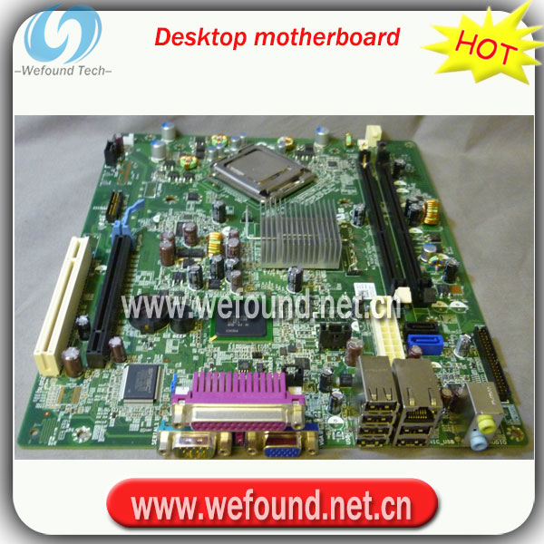 100% Working desktop motherboard for 380 SFF Socket 775 1TKCC 01TKCC R64DJ 0R64DJ mainbo ...