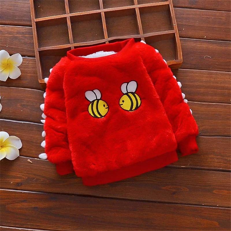 Freundschaftlich Bibicola Winter Baby Kind Baby Cartoon Pullover Mädchen Kleidung Kind Pullover Mädchen Winter Warme Pullover Kinder Warme Oberbekleidung Schrecklicher Wert