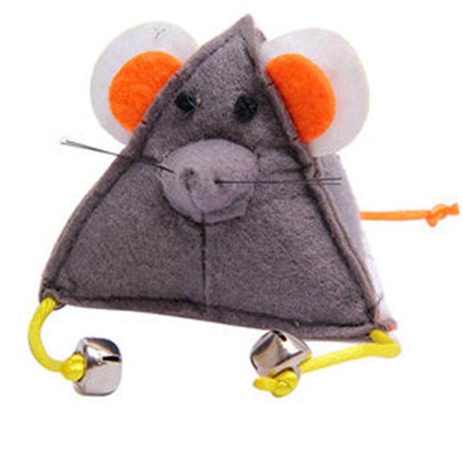 Pet Товары для кошек Игрушка Мышь когти шлифовальные холст интерактивные продукты Котено ...