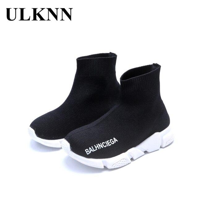 ULKNN Bambini Scarpe Ragazzi Ragazze Scarpe Bambini Sneakers Leggero Mesh  Traspirante Calzini Scarpe della Scarpa Da 6d6943ee676