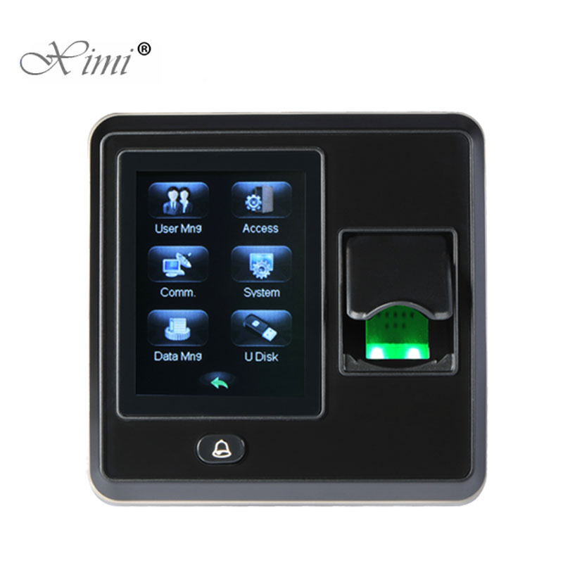 New Arrival TCP/IP Fingerprint Time Attendance And Access Control ZK SF300 Color Screen Linux System Door Access Control System linux system tcp ip smart card access control system door access controller access control panel with time attendance function