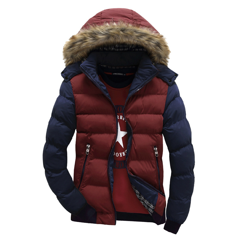 Quality Brand Winter Jacket Men New Parka Coat Men's Keep Warm Jackets Hooded Outwear Top Brand Clothing Casual Coat M - 4XL