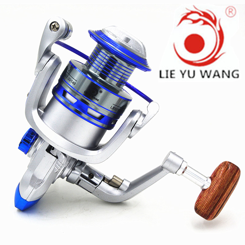 LIEYUWANG YL1000-6000 Spinning Reel 12 Ball Bearings 5.2 : 1 Metal Fishing reel Wheel