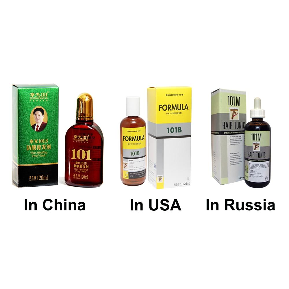 Zhangguang 101 B Formula Hair Tonic 120 ml anti-rambut rontok kuat - Perawatan rambut dan styling - Foto 5