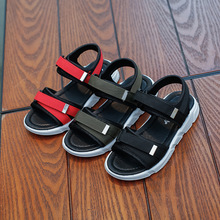 AFDSWG summer beach shoes boys sandals black kids children boy red girls flat green child models
