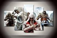 Cuadros Decoracion Fallout Assassin Creed 4 Flagi Malarstwo Obrazy Na Płótnie Dekoracji Obraz Wydruku Dla Living Room Decor
