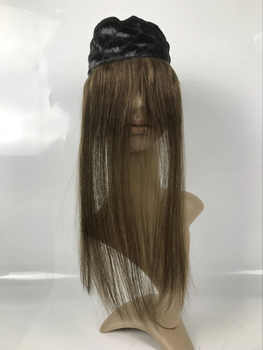 Alitsingtaowigs ,100% European VIRGIN hair I BAND , Head band , Lace Grip for jewish wig kosher wigs free shipping
