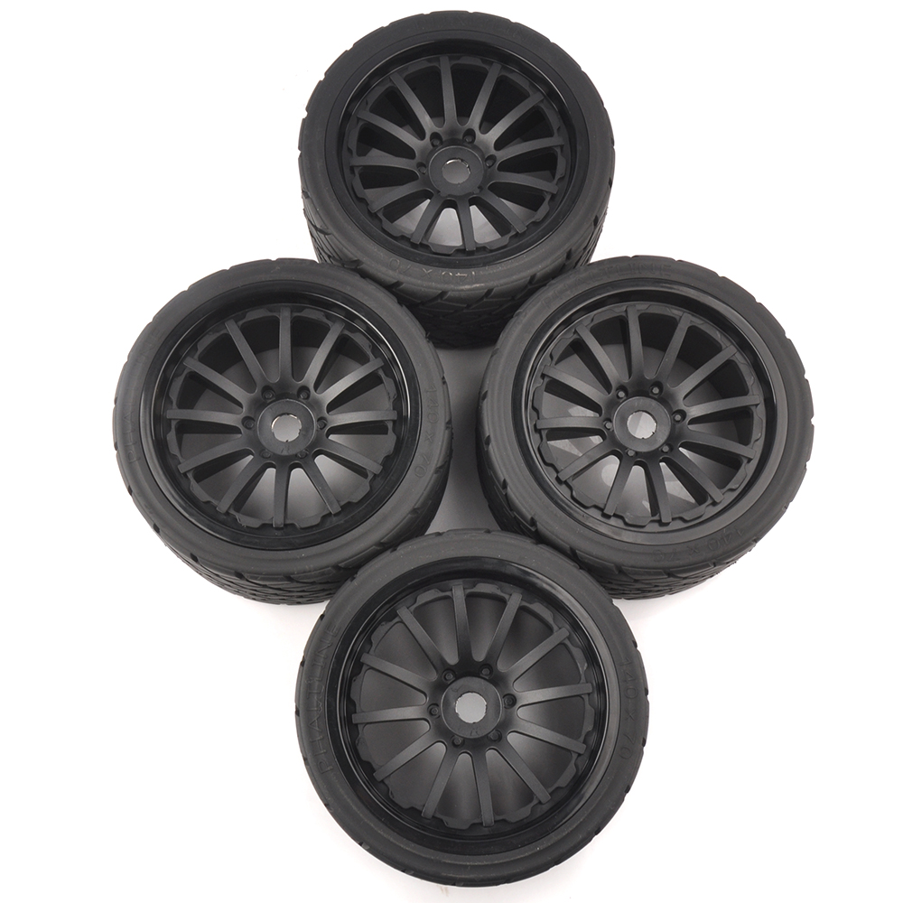 4 pcset 17mm hex 1:8 rc monster