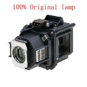 Image 1 - ZR 100% جديد حقيقي الأصلي العارض مصباح ELP46 / V13H010L46 مع الإسكان ل EB G5200 EB G5300 EB G5350 EB G5200WL EB 500KG