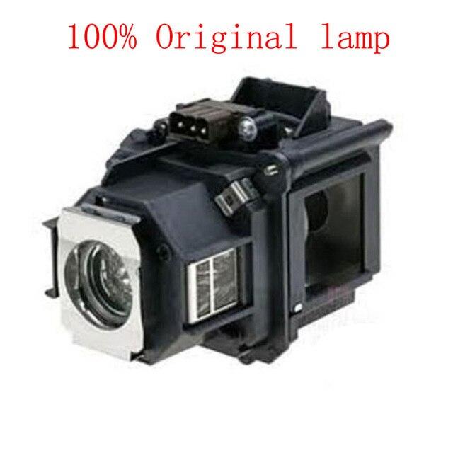 ZR 100% جديد حقيقي الأصلي العارض مصباح ELP46 / V13H010L46 مع الإسكان ل EB G5200 EB G5300 EB G5350 EB G5200WL EB 500KG
