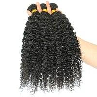 3B 3C странный бразильский пучки волос плетение Одна деталь натуральная Пряди человеческих волос для наращивания натуральный Цвет Мёд Queen Hair ...