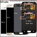 100% original tela lcd de toque digitador assembléia para samsung galaxy s7 g9300 g930f g930 g930a lcd cinza/branco/ouro