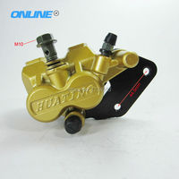 Disc Brake Caliper Rear Disc Brake Fit To 50cc 70cc 90cc 110cc 125cc Dirt Pit Bike Rront Brake System Free Shipping