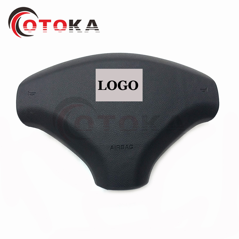 Car Styling Airbag Cover For Peugeot 2008 Auto SRS Steering Wheel Air Bag Cover Without logo