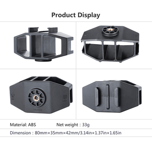 Image 2 - VIJIM GP 1 GoPro Vlogging Stand Bracket 2 Cold Shoe Mount 1/4 Screw for GoPro Hero 7 6 5 SJcam DJI Osmo Action Sport Cameras