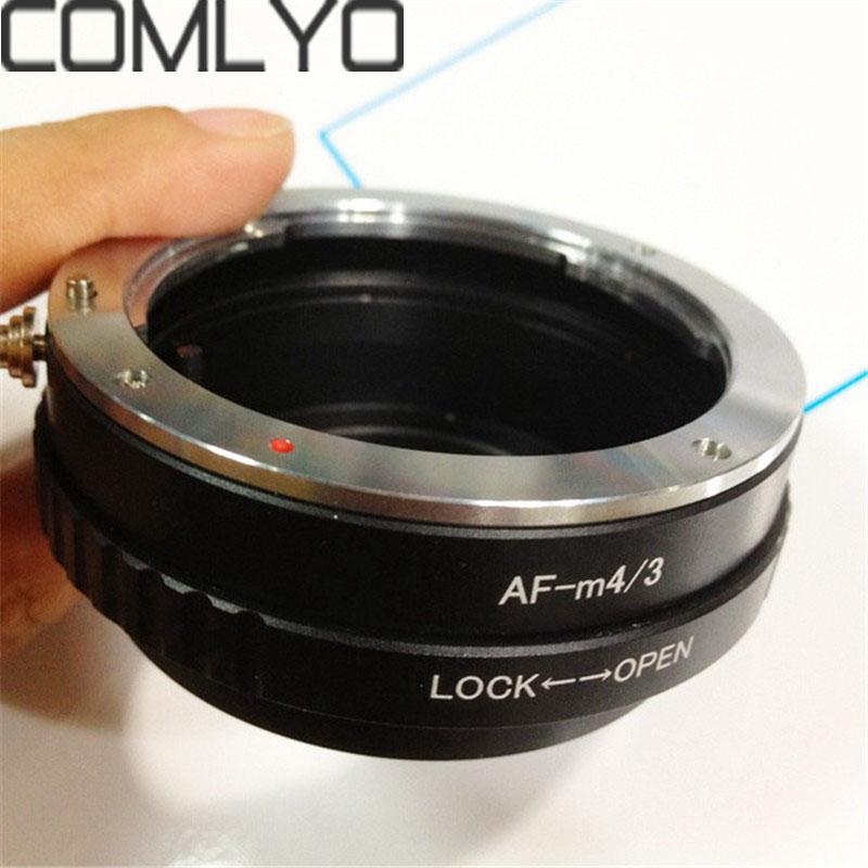 Prix pour Nouveau COMLYO Pour Sony Minolta MA AF à Micro 4/3 m4/3 bague de Montage Adaptateur d'objectif pour Olympus EP1 EP2 Panasonic G1 GF1 GF2 GH1 GH2