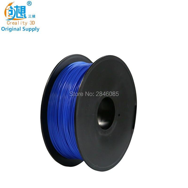CREALITY 3D 1.75mm PLA filament Blue Color High quality PLA filament N.W 1000g for FDM 3D Printer FFF 3D Printer Green cctree pla 3d printer filament
