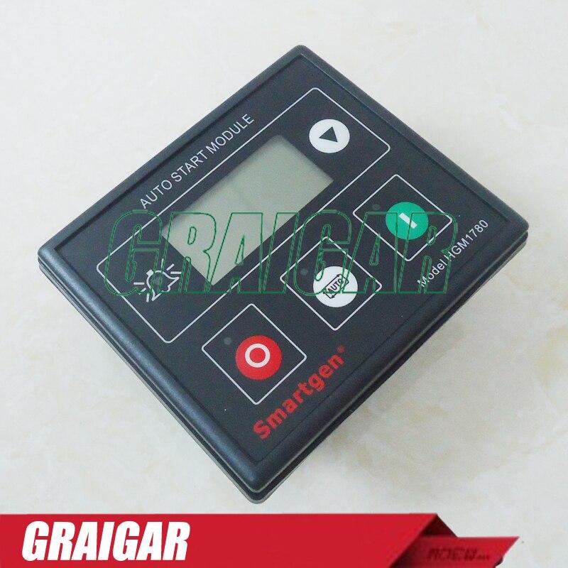 New SmartGen Generator Controller HGM1780 Automatic Engine Control Module smartgen genset generator controller hgm1780 auto start moudle